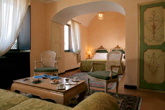 hotel San Francesco al Monte, hotel di lusso Napoli