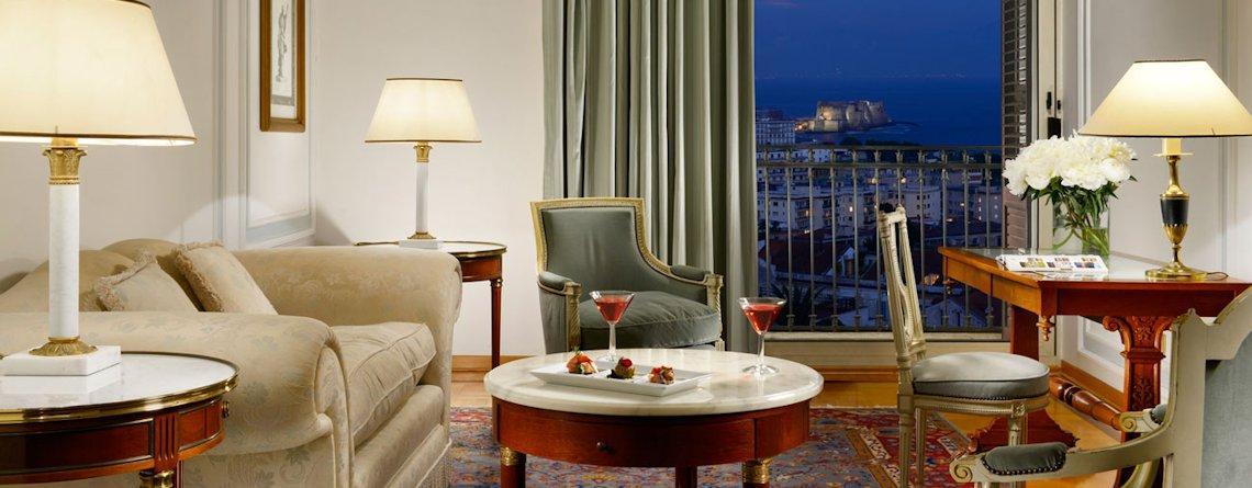 Suite con vista mare - Grand Hotel Parkers, hotel di lusso Napoli
