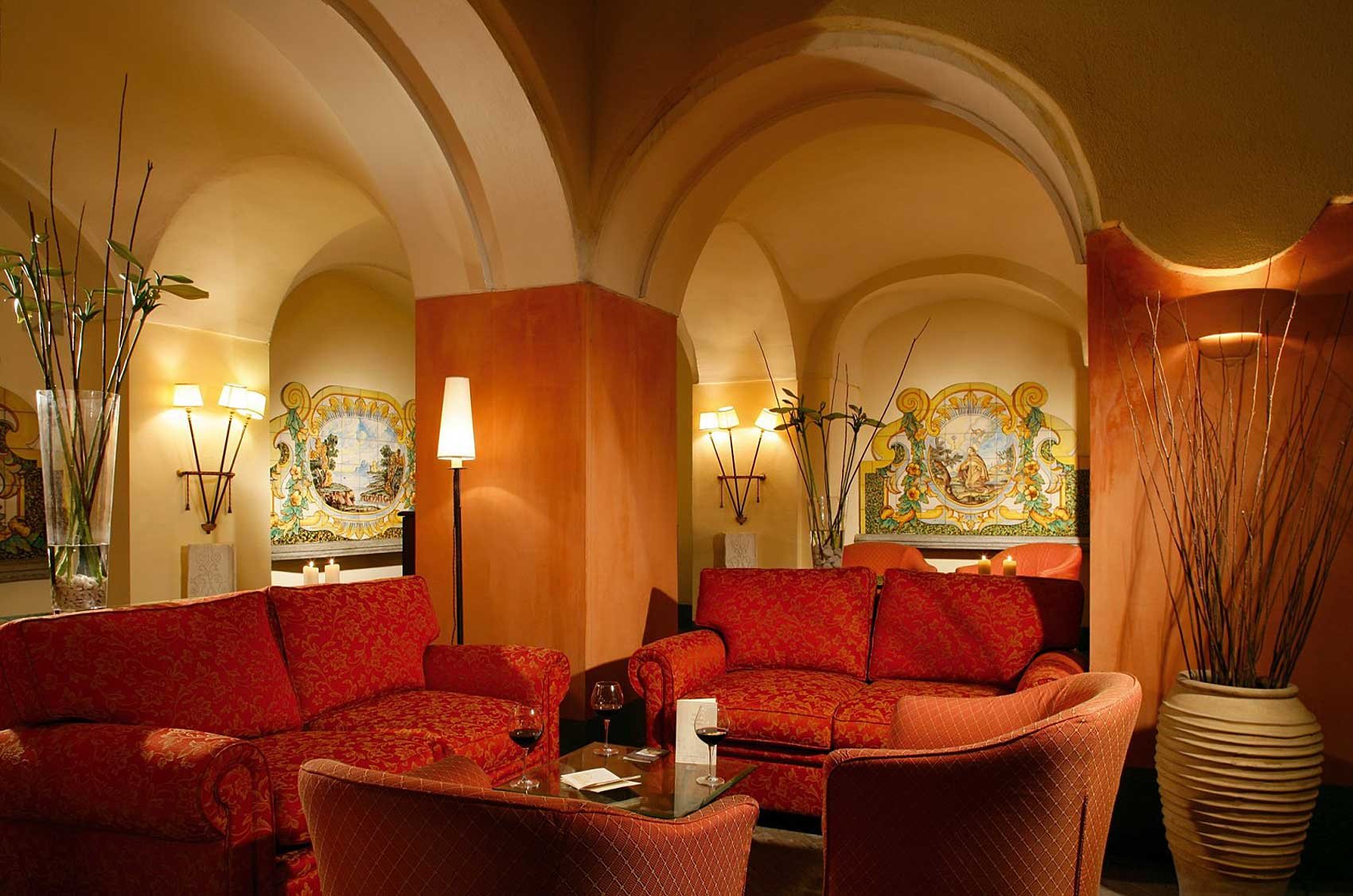 Hotel San Francesco al Monte Napoli (lounge)